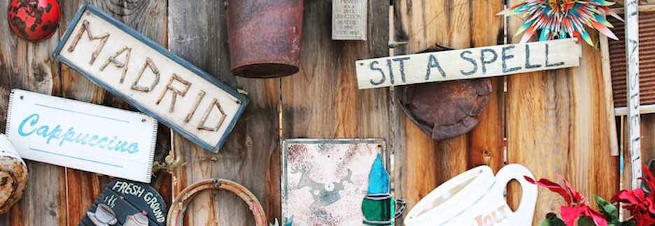 On Long Country Drives, Rustic Wooden Signs, and Annoying Apostrophe Errors