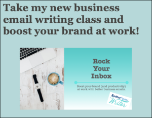 business email writing class